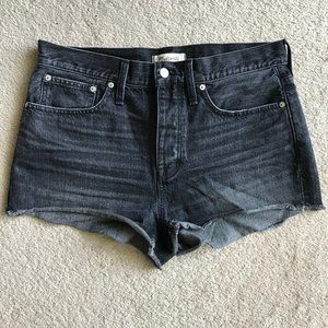 Madewell High Rise Relaxed Denim Shorts 29